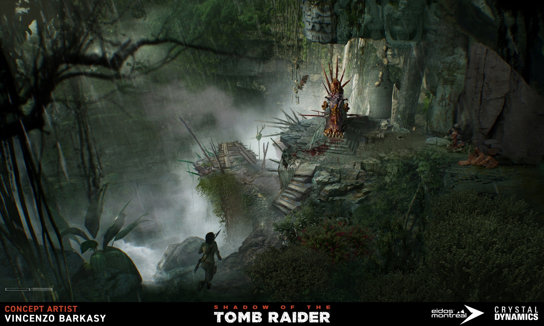 Shadow Of The Tomb Raider Concept Art: Shadow Of The Tomb Raider