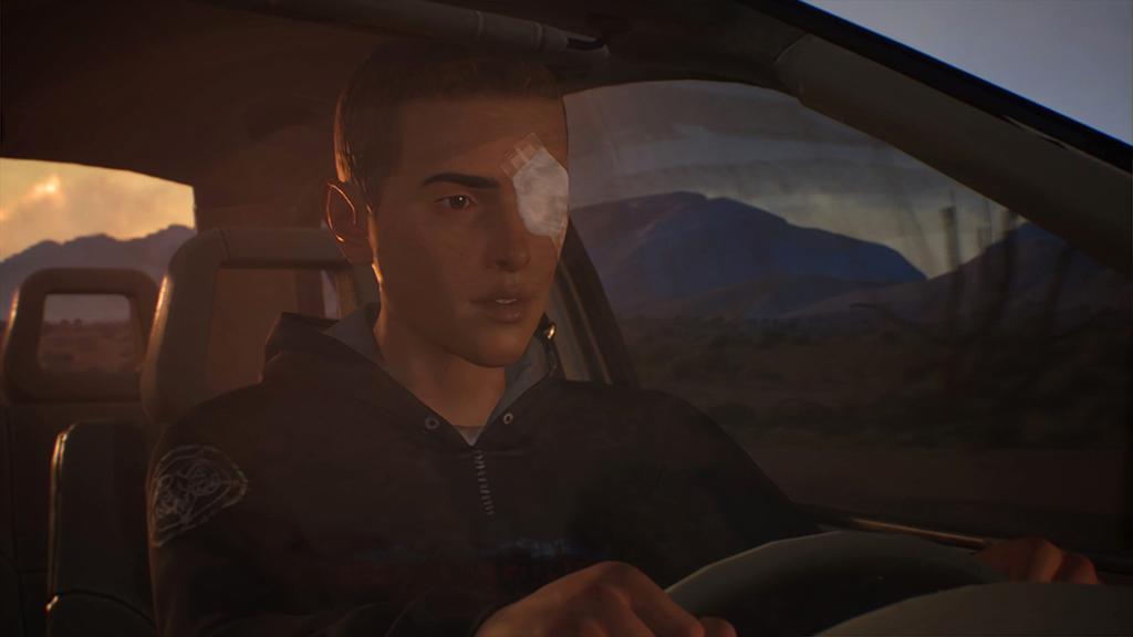 Life is Strange 2 Episode 4 Sean driving